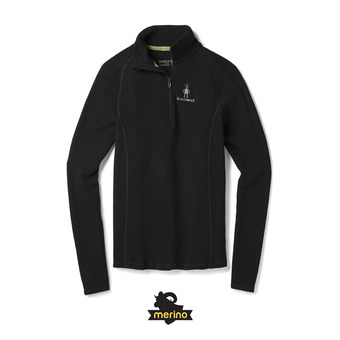 Men's Merino 200 Baselayer 1/4 Zip Homme Black