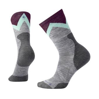 Smartwool PRO APPROACH LIGHT ELITE CREW - Socks - Women's - light gray