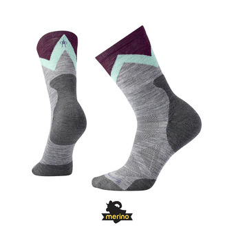 Smartwool PRO APPROACH LIGHT ELITE CREW - Calcetines mujer light gray