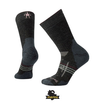 Chaussettes femme PHD OUTDOOR HEAVY CREW charcoal