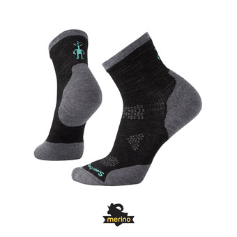 Smartwool PHD RUN COLD WEATHER CREW - Chaussettes Femme black