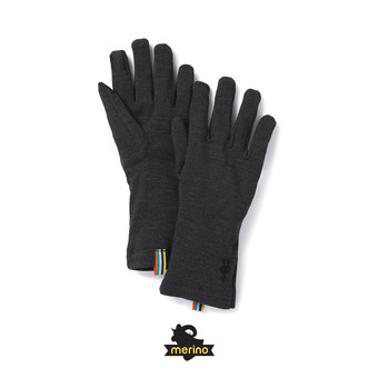 Smartwool MERINO 250 - Guantes charcoal heather