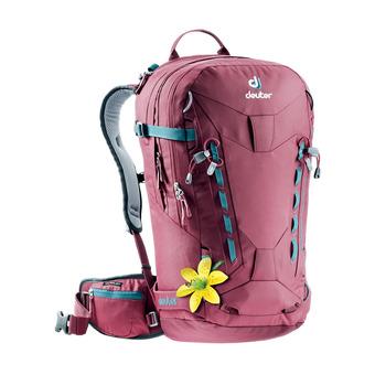 Deuter FREERIDER PRO 28L - Backpack - Women's - burgundy