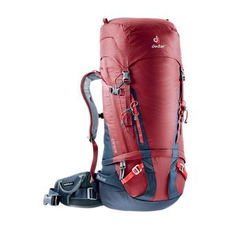 Deuter GUIDE 45+8L - Backpack - raspberry/navy blue
