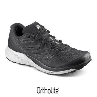 Chaussures trail homme SENSE RIDE black/white/phantom