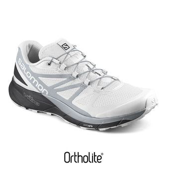 Zapatillas de trail hombre SENSE RIDE white/black/pearl blue