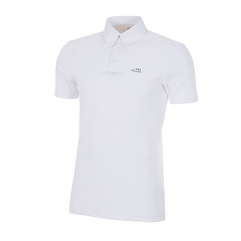 Equiline ALDO - Polo concours Homme white