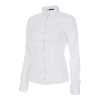 Equiline RAJA - Chemise concours Femme white