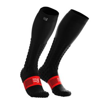 Chaussettes de compression FULL DETOX RECOVERY noir
