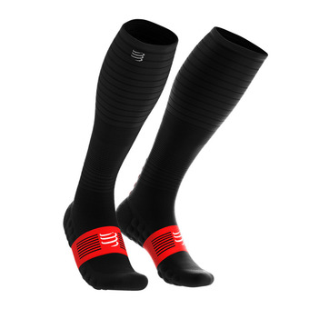 Compressport FULL OXYGEN - Calze nero