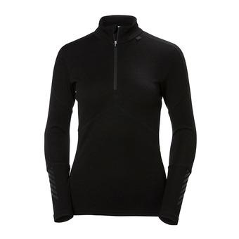 Camiseta térmica mujer LIFA MERINO black
