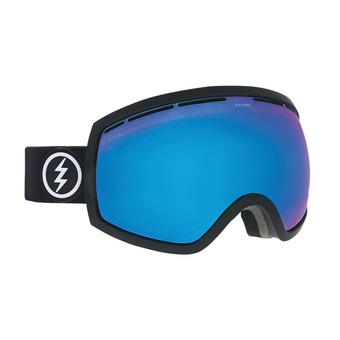 Masque de ski EG2 matte black/brose-blue chrome + yellow green