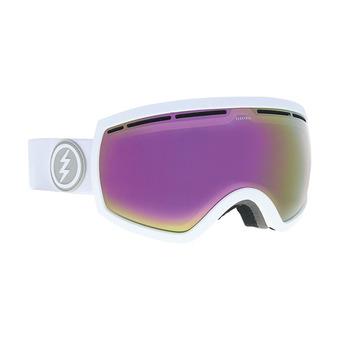 Gafas de esquí mujer EG2.5 matte white/brose-pink chrome + jet black