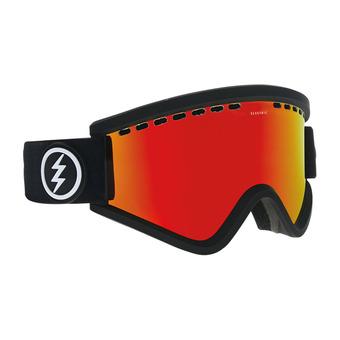 Masque de ski EGV matte black/brose-red chrome