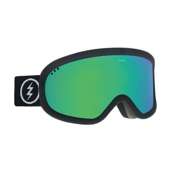 Masque de ski CHARGER matte black/brose-green chrome