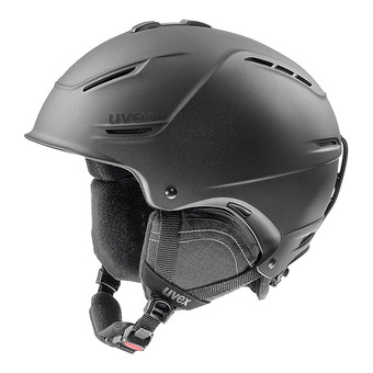 Casque de ski P1US 2.0 black met mat