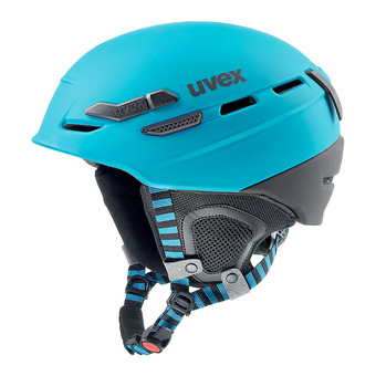 Casque de ski P.8000 TOUR petrol black mat