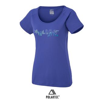Maillot MC femme M EXPERT TS purple blue