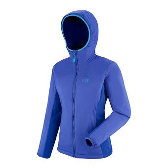 Veste à capuche femme MANA STRETCH purple blue