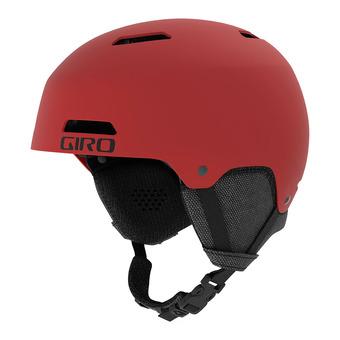 Casco LEDGE FS matte dark red