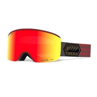 Gafas de esquí AXIS dark red sierra - vivid ember/infrared