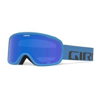 Giro CRUZ - Maschera da sci blue wordmark/grey colbalt