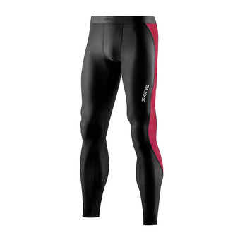 Skins DNAMIC ACE - Calzamaglia Uomo black/red