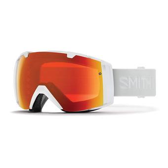 Smith I/O - Maschera da sci white vapor/chromapop everyday red mirror