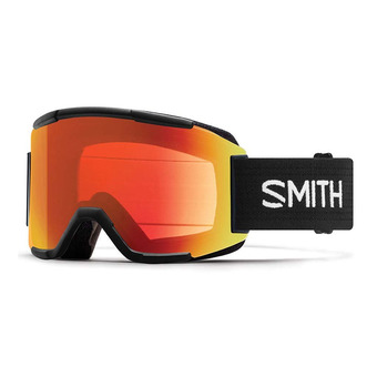 Masque de ski SQUAD black/chromapop everyday red mirror + yellow