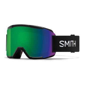 Smith SQUAD - Gafas de esquí black/green sol x mirror