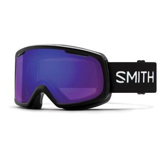 Smith RIOT - Maschera da sci Donna black/chromapop everyday violet mirror
