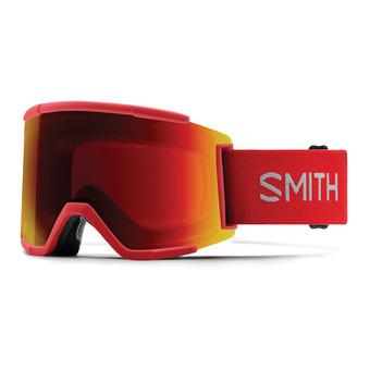 Masque de ski SQUAD XL rise/chromapop everyday red mirror + chromapop storm yellow flash
