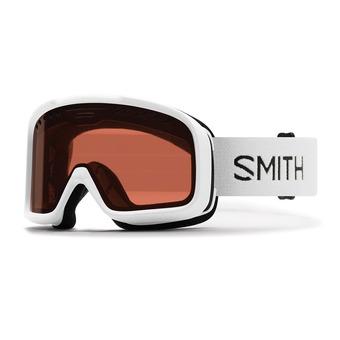 Smith PROJECT - Maschera da sci white/rc36 rosa