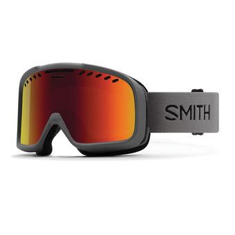Smith PROJECT - Maschera da sci charcoal/red sol x mirror