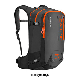 Mochila HAUTE ROUTE 32L black anthracite