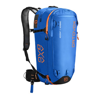 Ortovox ASCENT AVABAG 30L - Mochila airbag safety blue