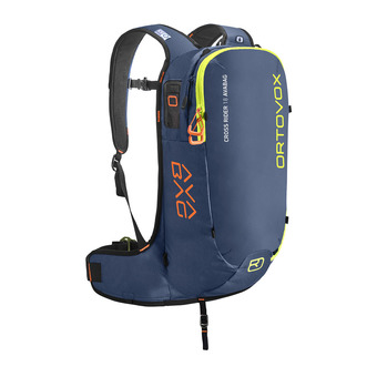 Mochila CROSS RIDER 18L night blue + kit airbag AVABAG-UNIT