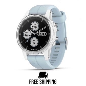 Garmin FENIX 5S PLUS - Montre blanc