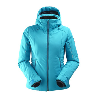 Veste de ski à capuche femme RIDGE 2.0 blue morpho