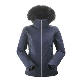 Veste de ski à capuche femme SQUAW VALLEY FUR 2.0 dark night