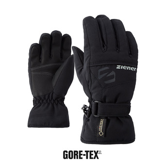 Ziener LABER GTX - Guantes junior black