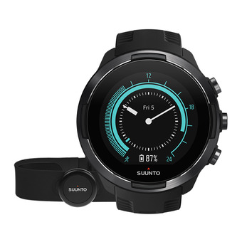 Suunto 9 BARO - Watch black + heart rate belt