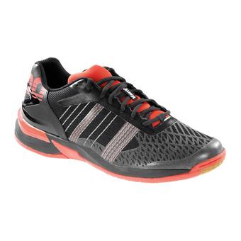 Chaussures homme ATTACK CONTENDER EBBE & FLUT noir/rouge phare