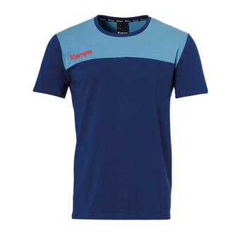 Kempa EBBE & FLUT - Camiseta hombre ocean blue/blue colombe
