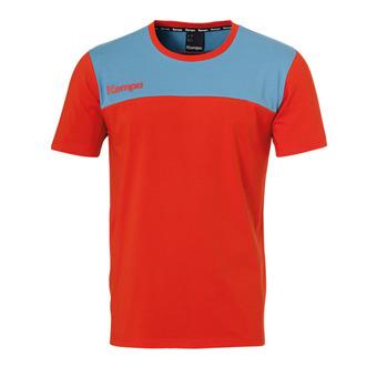 Camiseta hombre EBBE & FLUT rojo faro/azul paloma