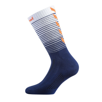 Hummel GRADIENT - Calcetines hombre poseidon/white/orange