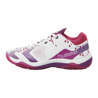 Chaussures handball femme DUAL PLATE POWER beetroot purple/dark purple