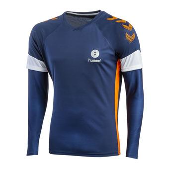 Camiseta de portero hombre TROPHY PE19 poseidon/orange popside