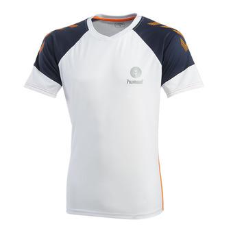 Hummel TROPHY - Camiseta hombre white/poseidon