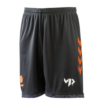 Hummel VP28 - Short hombre black/shocking orange